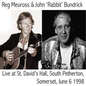 Reg Meuross and Rabbit live in South Petherton