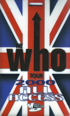 WHO PASS ALL ACCESS 2000
